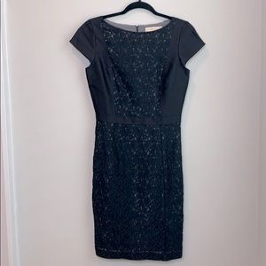 Tory Burch dress black with lace